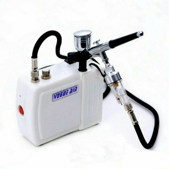 Airbrush Set, comes with Vogue Air Compressor