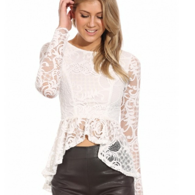 Angel Biba lace long sleeve