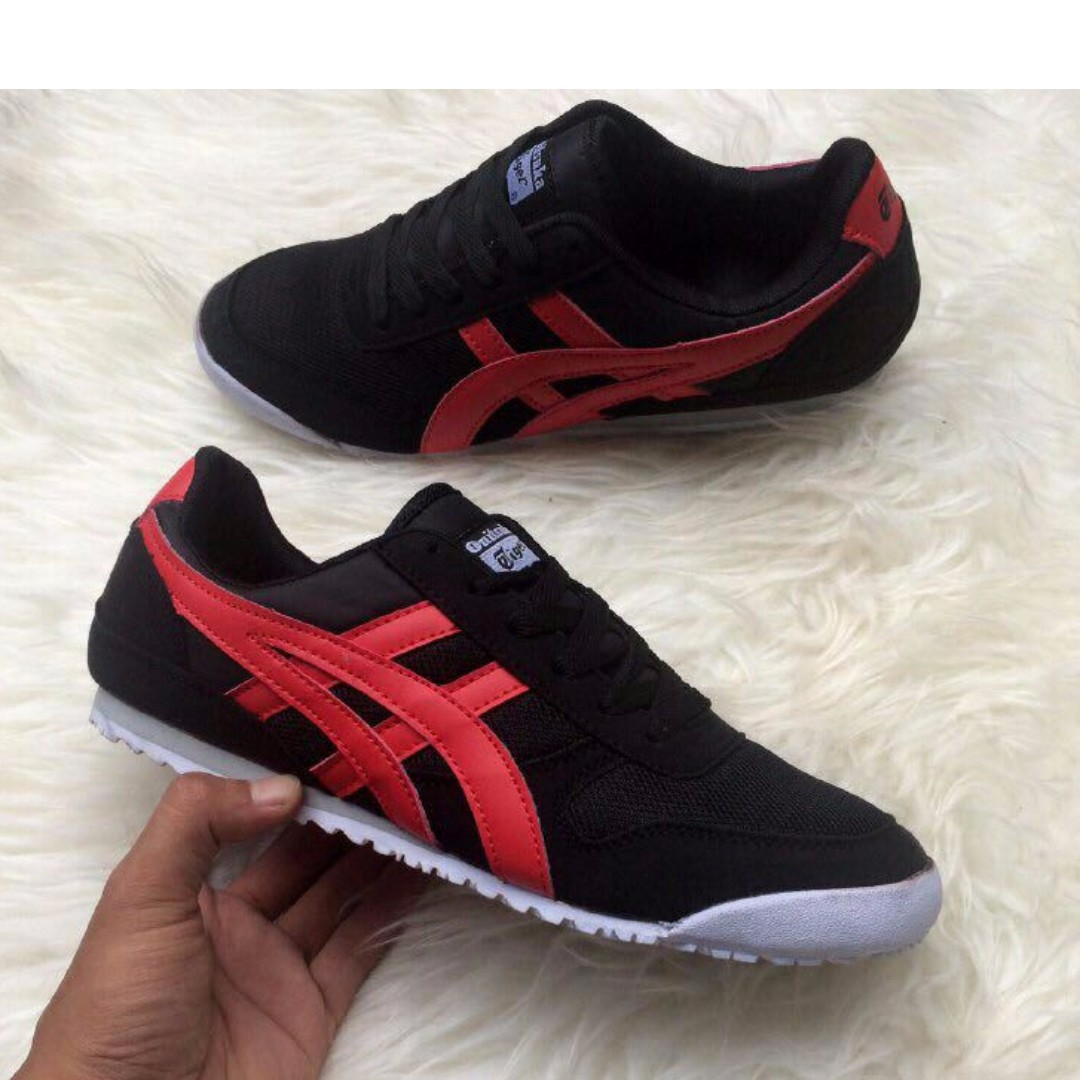 free shipping 7a008 dd39c #Asics Onitsuka Tiger Black Red #Sneakers