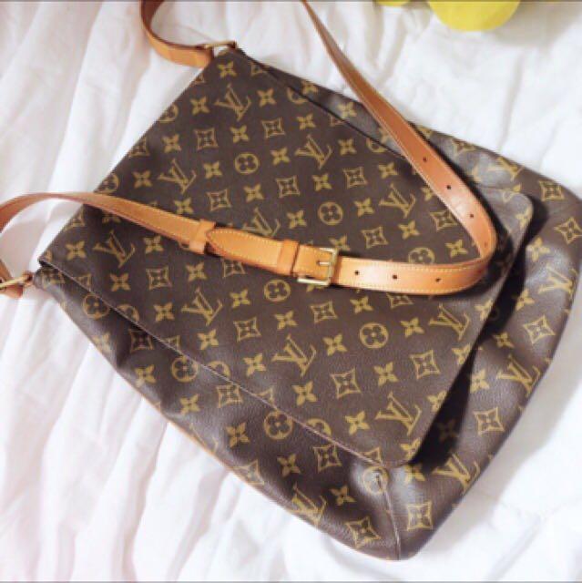 Authentic Louis Vuitton Salsa Sling Bag