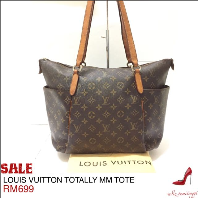 f34cd5e7bcfe AUTHENTIC LOUIS VUITTON TOTALLY MM