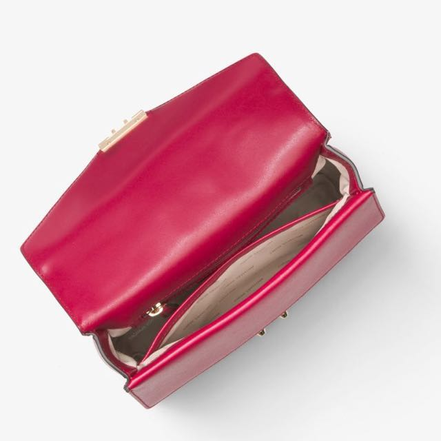 50eca1a18682 Authentic MK Michael Kors Sloan Colour Block Leather Gold Chain Satchel  Sling Crossbody Handbag