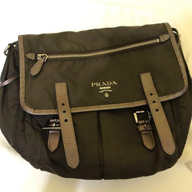 18f05dfc7f3f Authentic Prada Messenger Bag, Women's Fashion, Bags & Wallets on ...