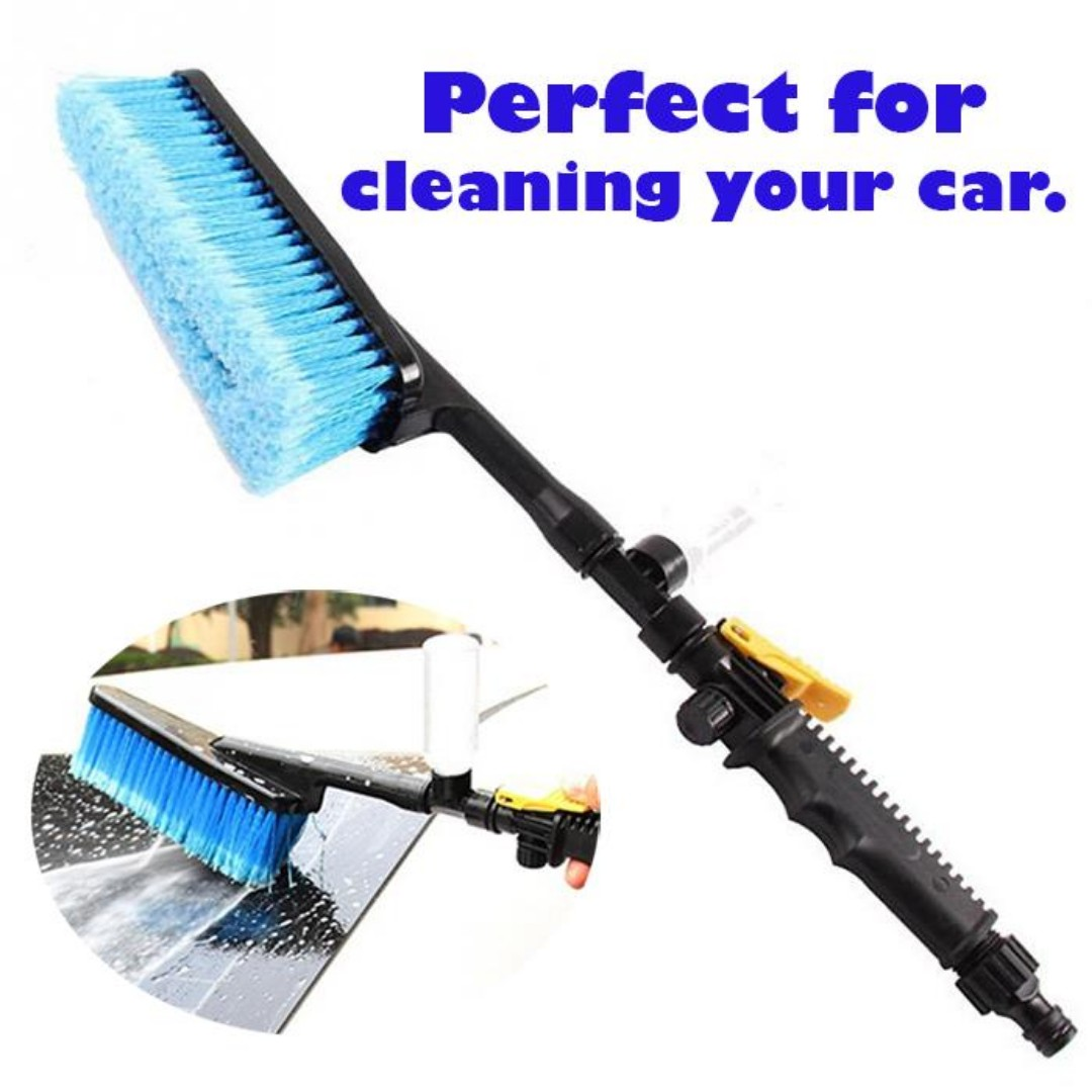 Auto Water Brusher Car Wash Brush Cleaning Tool **FREE SHIPPING**