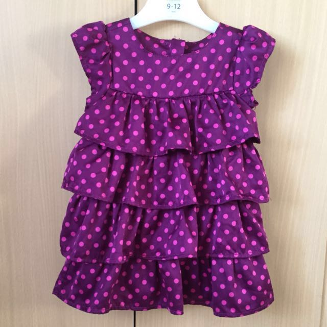 Baby Gap polka dot dress for toddlers girls 6-12m