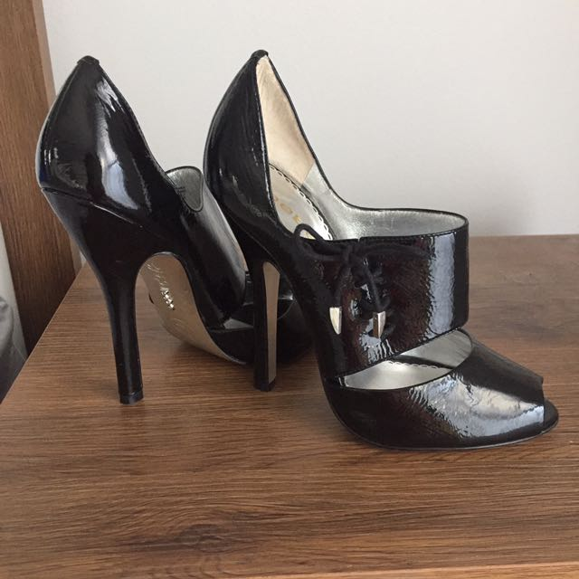 Bebe Jayanna black patent leather - 7
