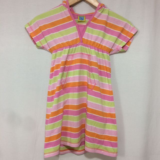 Big & Small Co. Colorful Hoodie Dress