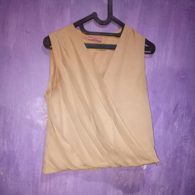 Blouse mocca
