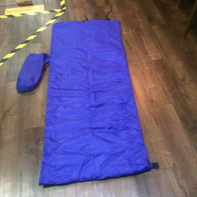 Blue Sleeping Bag Like New