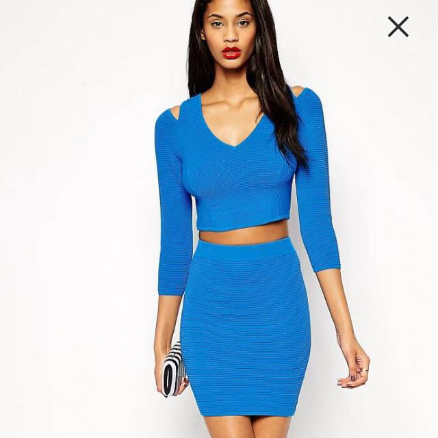 Blue Two Piece Set (size 12)