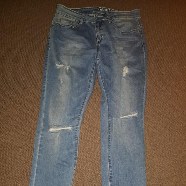Blue wash Skinny Jeans