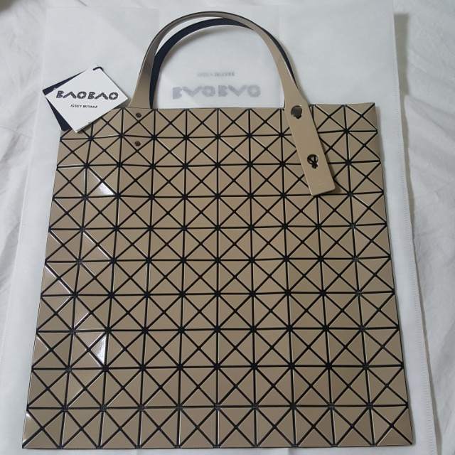 New Bao Bao Prism Issey Miyake ...special taupe colour exclusive to Japan 285b2f80311cf