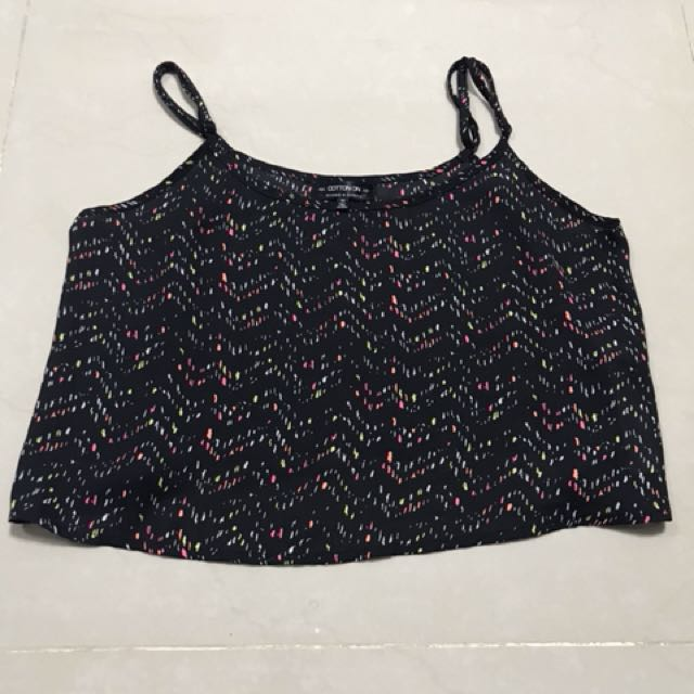 Brand new cotton on crop top