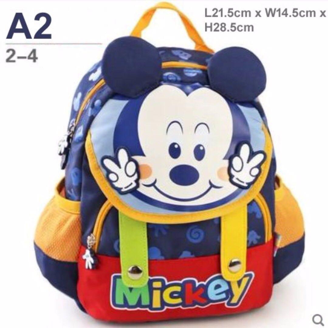 b87827499e Brand New Disney mickey mouse cartoon waterproof backpack   school ...