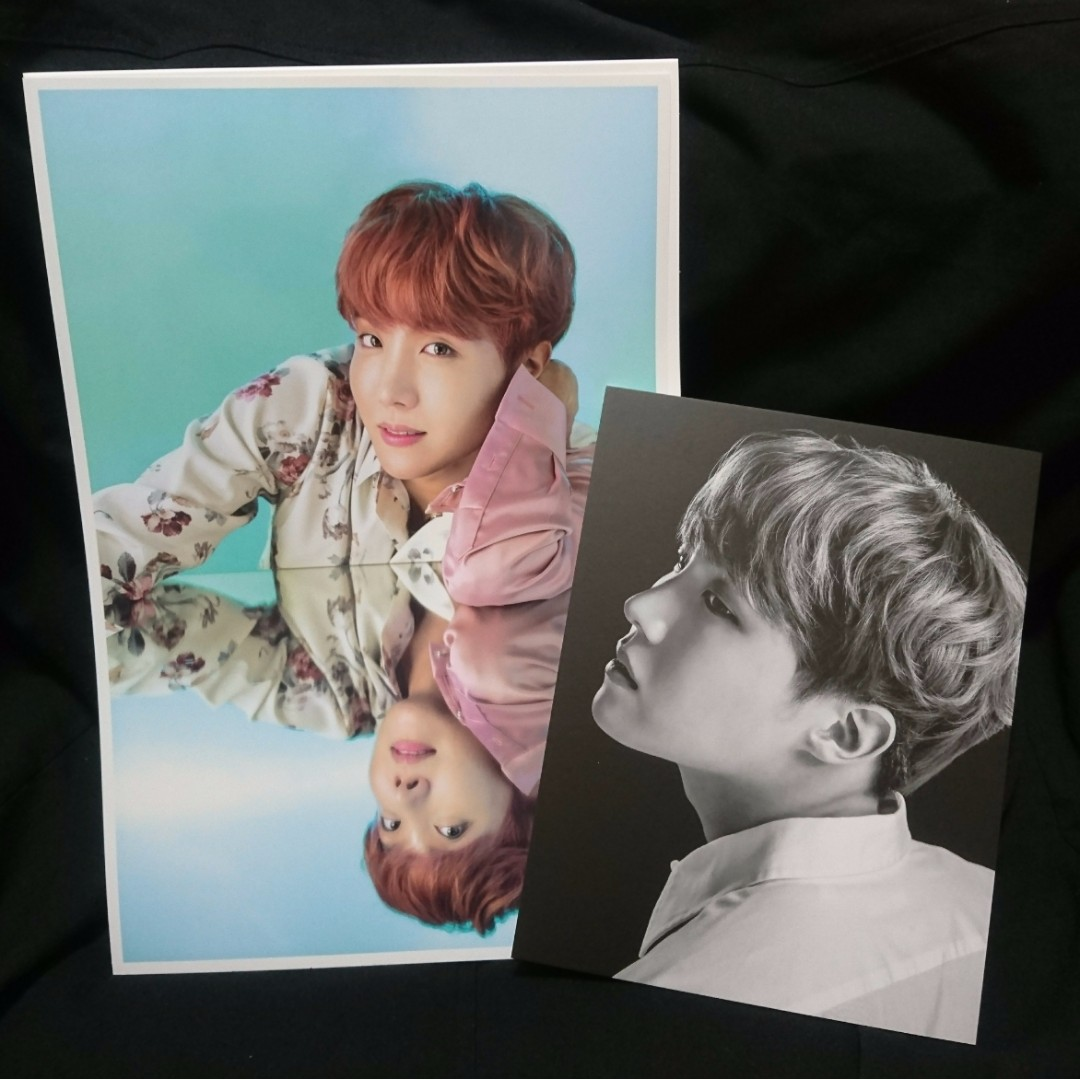 [INCOMING STOCK] BTS Japan Wings Tour Premium Postcard & Poster Set