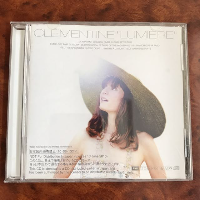 CD Clementine Lumiere