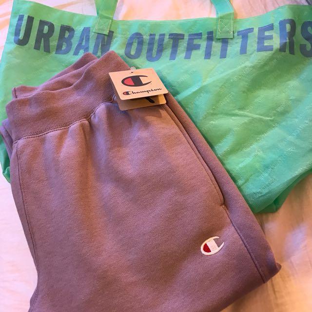 Champion & UO Reverse Weave Jogger Sweatpants - Lavendero