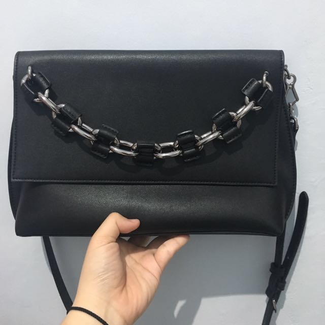 Charles & Keith Chain Detail Cluth