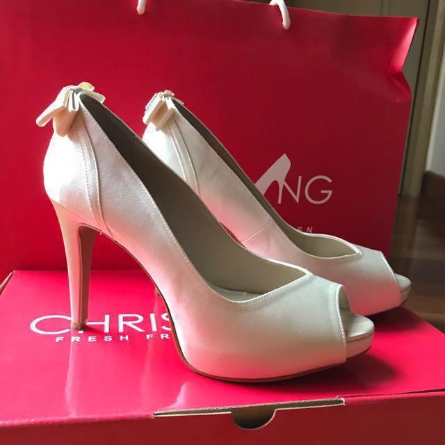 55959e55373 Christy Ng wedding shoes (size 37)