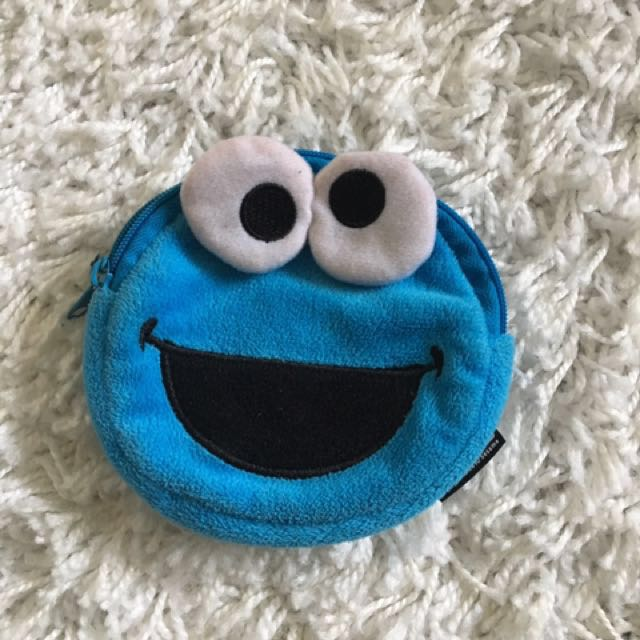 COOKIE MONSTER money pouch