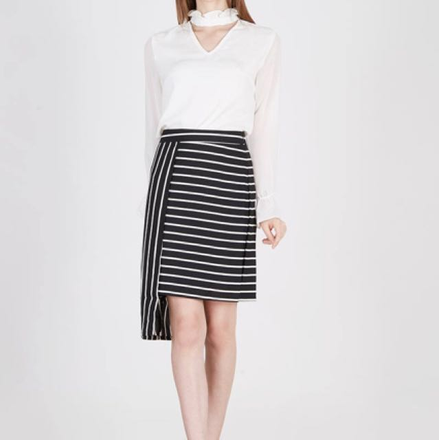 Coup Belle Ican Stripes Skirt