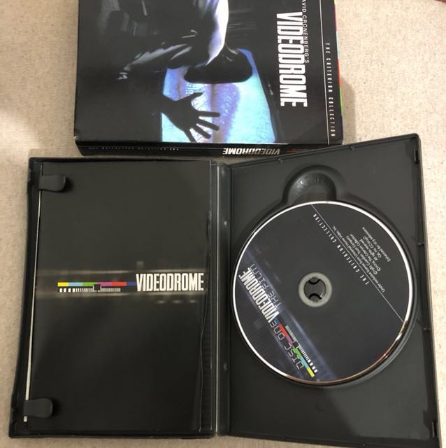 Criterion Collection DVD - David Cronenberg's Videodrome