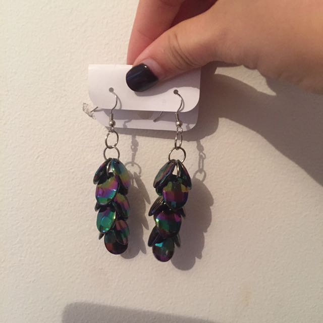 Doof Multicoloured Festival Earrings