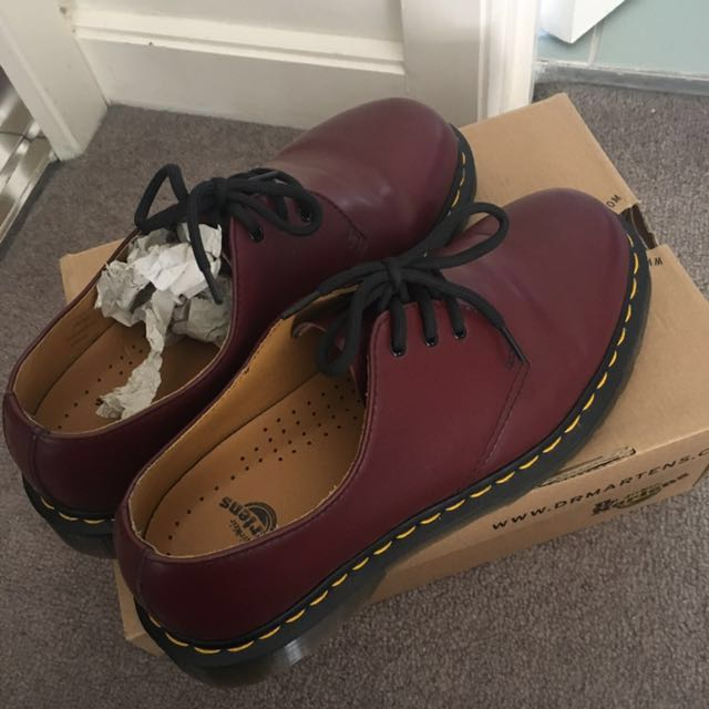 Dr marten, cherry red rouge