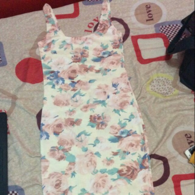 Dress and Denim skirt