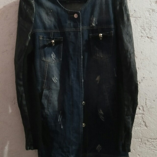 Dsquire™ maong leather jacket