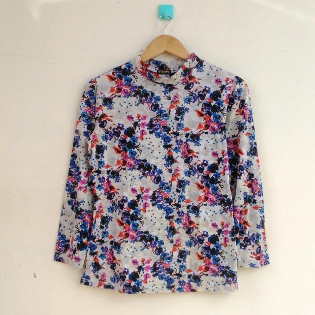 Floral Longslevee Tshirt