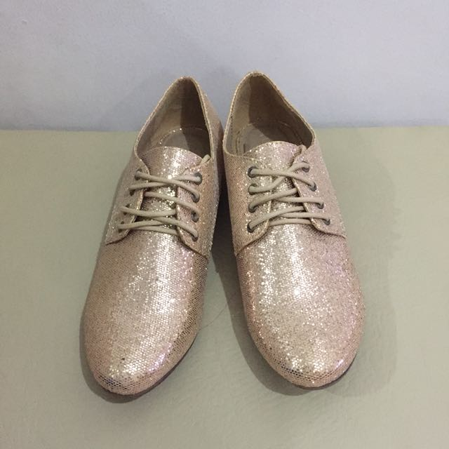 Forever21 Gold Oxfords