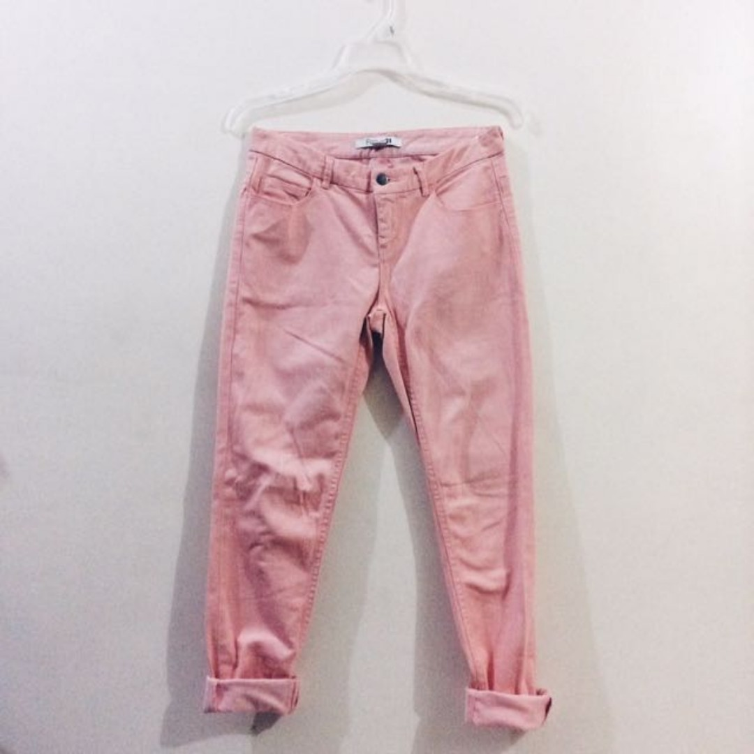 Forever 21 Peach Pants
