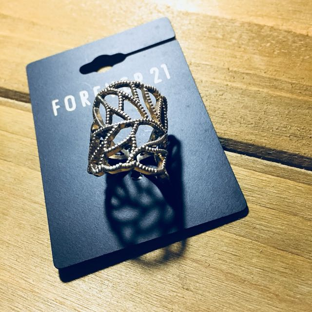 Forever 21 Statement Ring (gold)