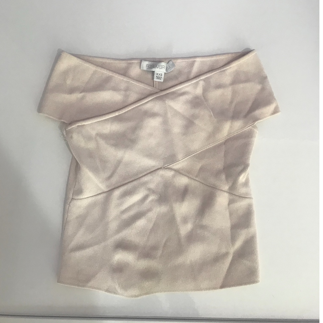 Forever new nude crop