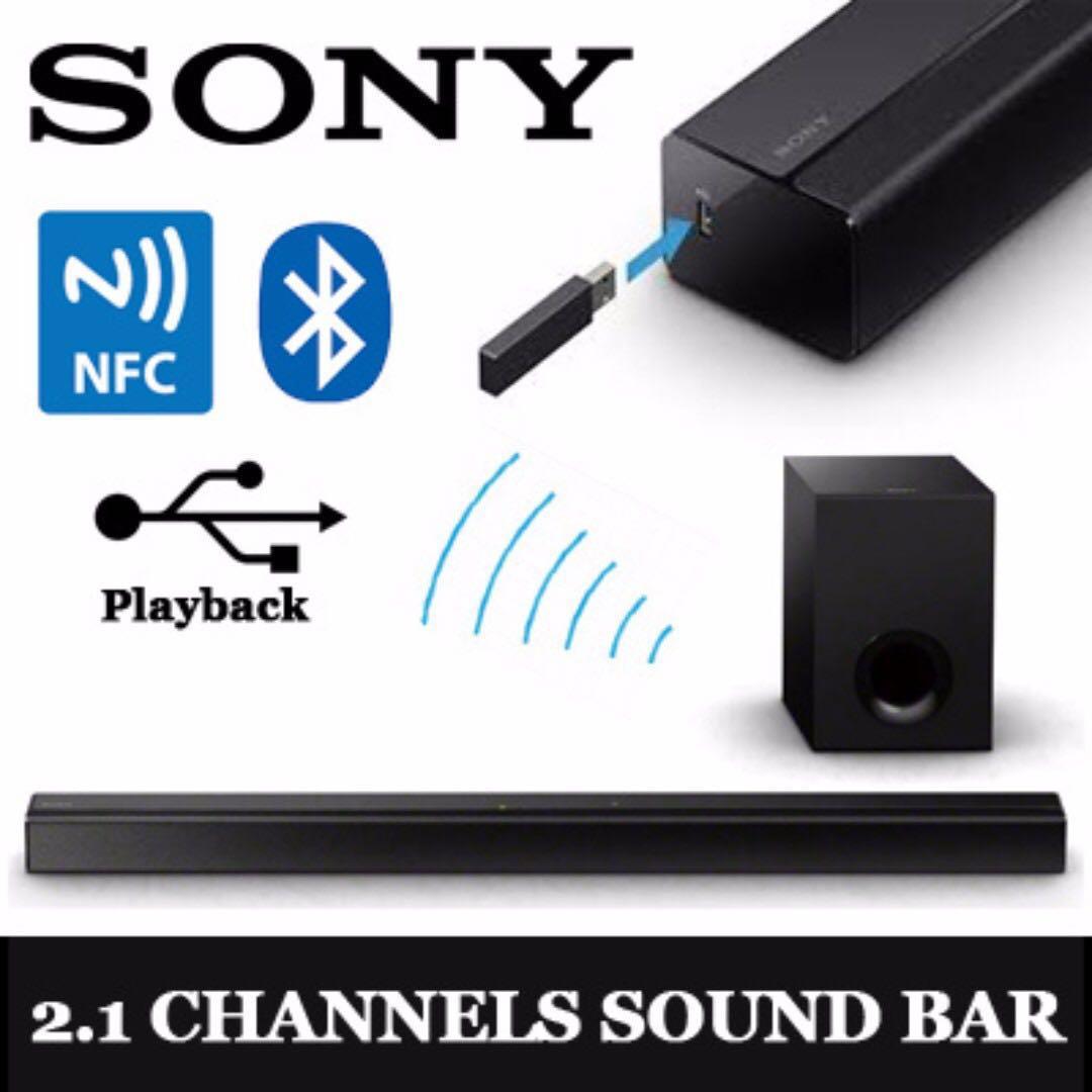 Genuine Sony 2.1CH Soundbar with Bluetooth