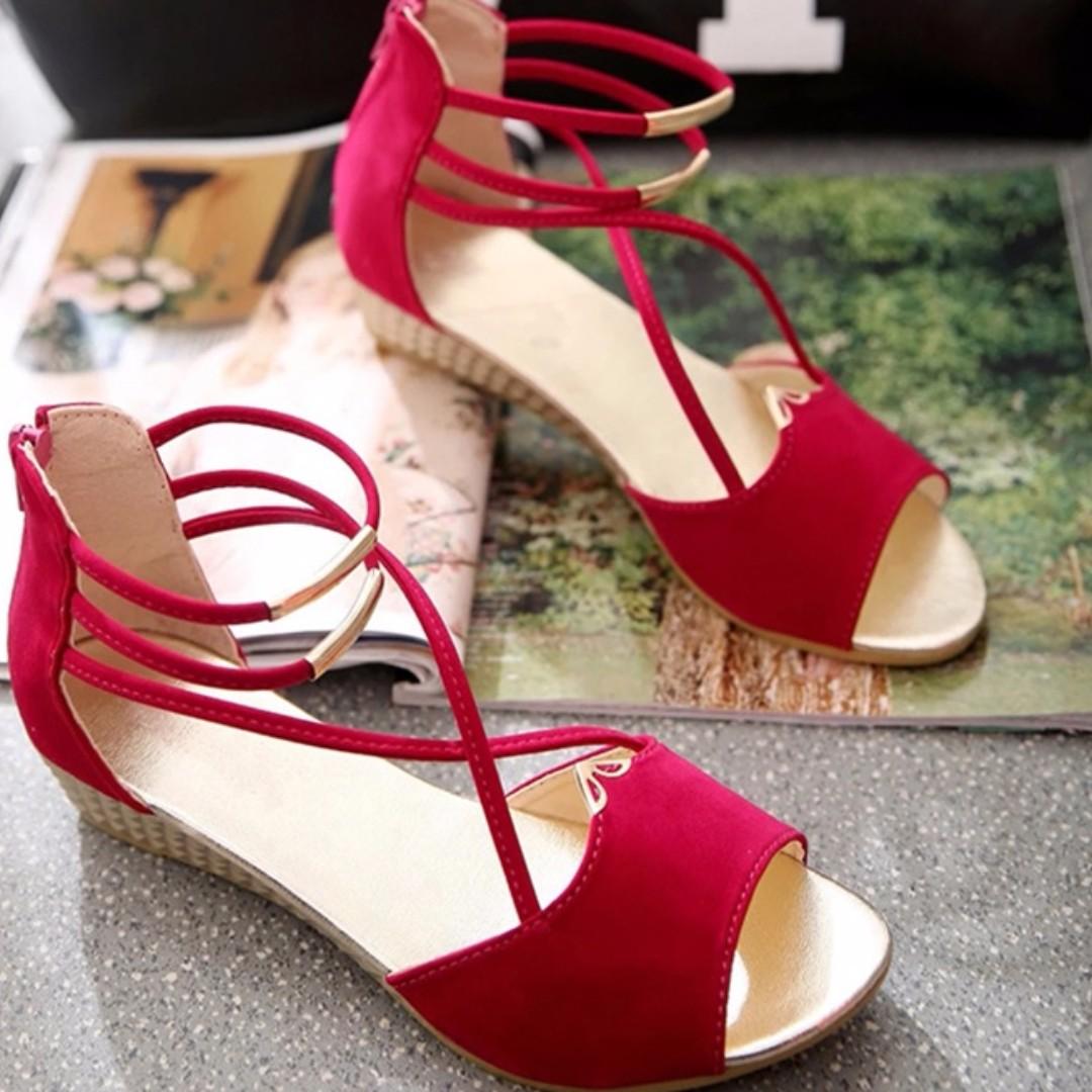 Gladiator style sandals sz 8