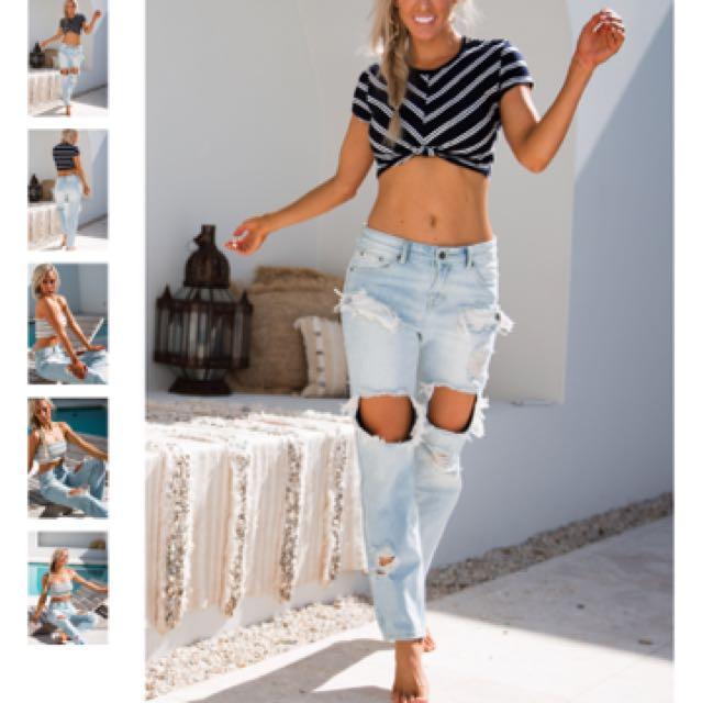 Grettyrose the label boyfriend jeans
