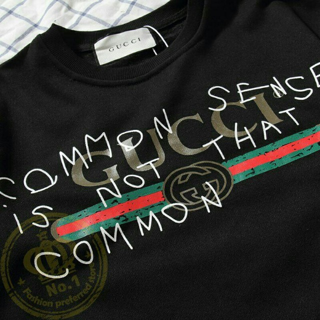 fc7872224 Gucci sense sweatshirt, Men's Fashion, Clothes, Tops on Carousell