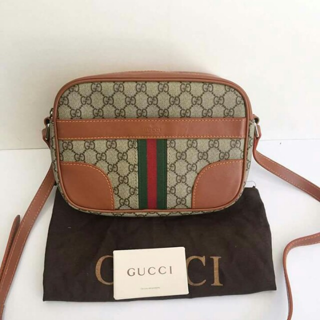 b1bf4fe59655 GUCCI Sling Bag, Women's Fashion, Bags & Wallets on Carousell