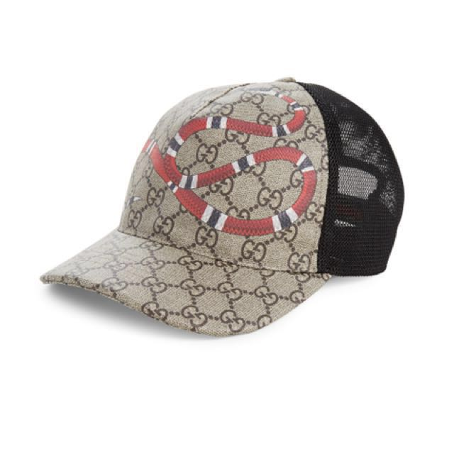 dbaeae4c GUCCI SNAKE GG CAP, Men's Fashion, Accessories on Carousell