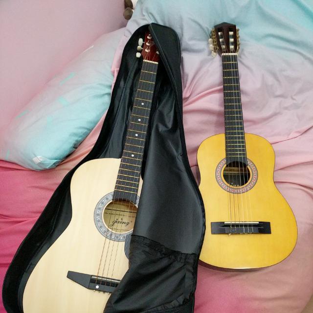 Guitar + Ukelele