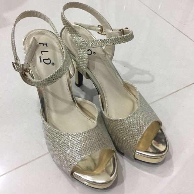 Heels FLD Gold Size 37