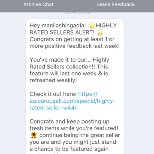 HIGHLY RATED SELLER ALERT 🚨