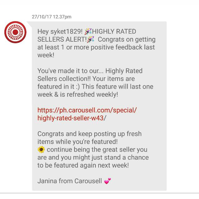 HIGHLY RATED SELLER! Thank you so much with love😘😍