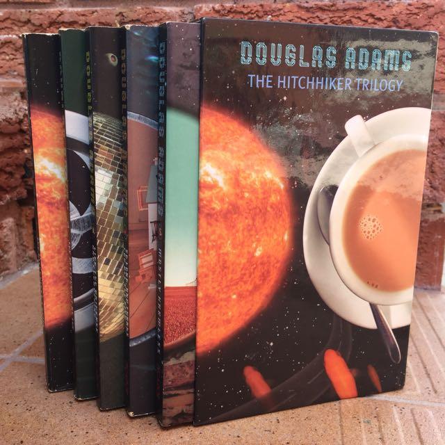 Hitchhikers Series - Douglas Adams - 5 books