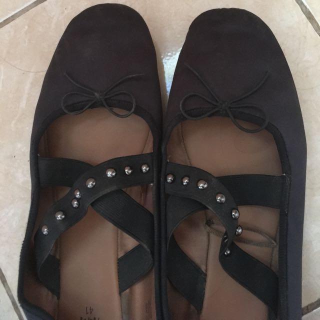 H&M Ballerina Strap Shoes