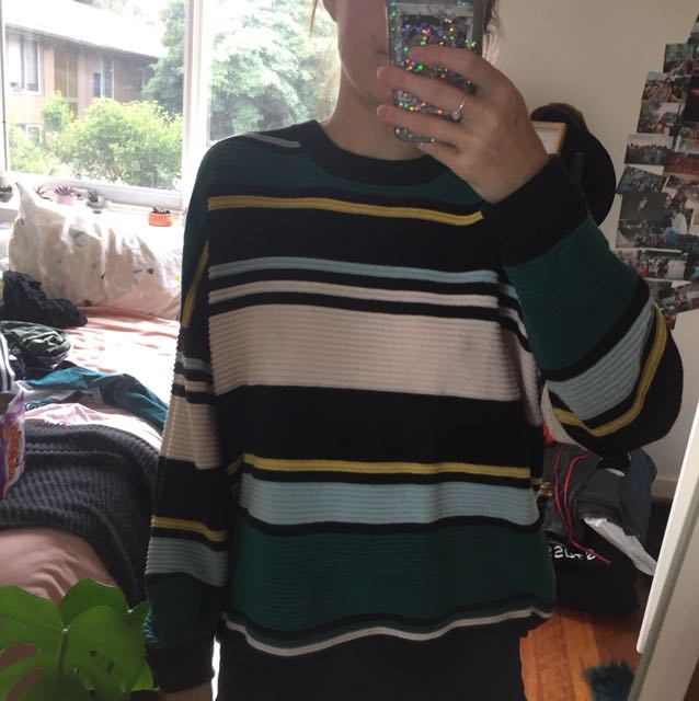 H&M Stripe knit