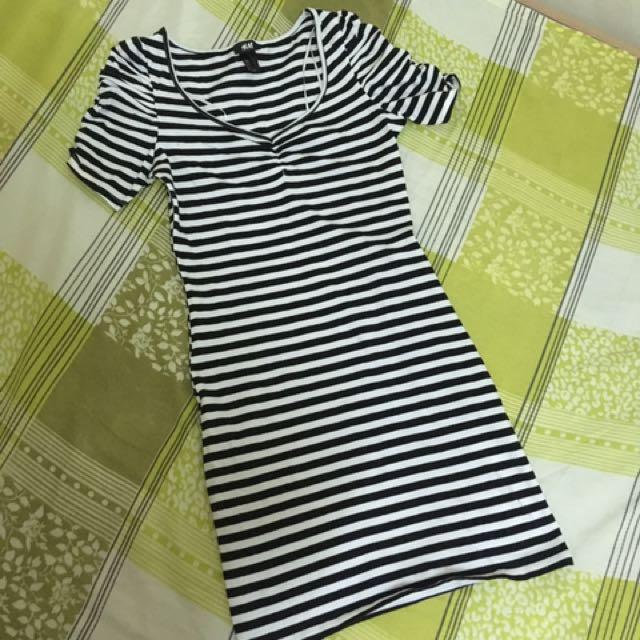 HM stripes dress