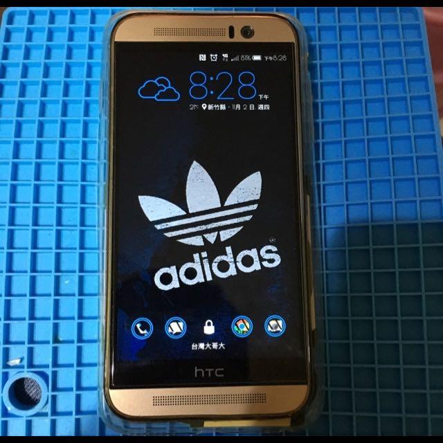 HTC One M9s 空機 配supreme殼